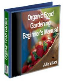 Organic food growing for beginners manual.