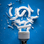 Cleaning Up Broken CFLs