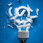 Cleaning Up Broken CFLs