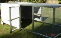 Southport Showplace chicken tractor
