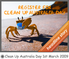 Clean Up Australia Day!