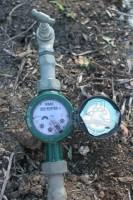 Water restrictions have people watching their water meters!