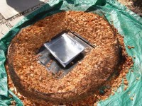 The Solar Nest is a simple, low-cost solar oven/cooker